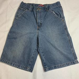 Vintage Faded Glory Carpenter Jean Shorts